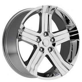 "24"" 2013 Dodge Ram RT Wheels Chrome OEM Replica Rims"