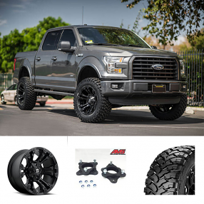 "2016 Ford F-150 20x10"" Wheels+Tires+Suspension Package Deal"