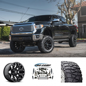 "2014 Toyota Tundra 20x10"" Wheels+Tires+Suspension Package Deal"
