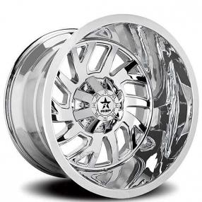 "22"" RBP Wheels 65R Glock Chrome Off-Road Rims"