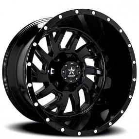 "22"" RBP Wheels 65R Glock Gloss Black Off-Road Rims"