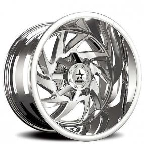 "22"" RBP Wheels 66R HK-5 Chrome Off-Road Rims"