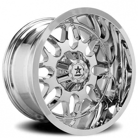 "24"" RBP Wheels 73R Atomic Chrome Off-Road Rims"