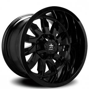 "20"" RBP Wheels 74R Silencer Gloss Black Off-Road Rims"