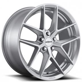 """19"""" Rotiform Wheels R133 FLG Silver Rims"""