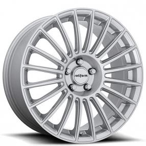 "19"" Rotiform Wheels R153 BUC Gloss Silver Rims"
