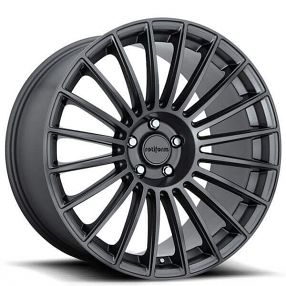 """19"""" Staggered Rotiform Wheels R154 BUC Anthracite Rims"""