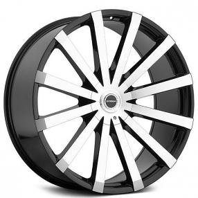 26 inch rims 26 inch wheels black chroma rims  26 strada wheels gabbia black machined rims