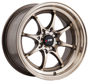 "15"" F1R Wheels F03 Bronze JDM Style Rims"