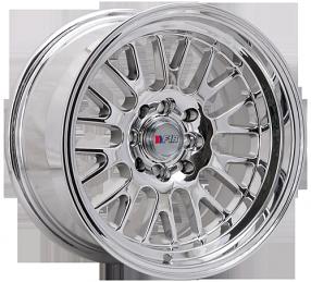 "15"" F1R Wheels F04 Chrome JDM Style Rims"