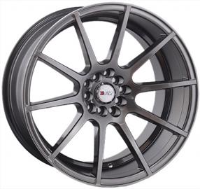 "17"" F1R Wheels F17 Hyper Black Rims"