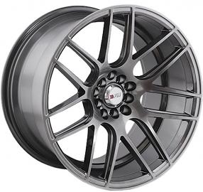"17"" F1R Wheels F18 Hyper Black Rims"