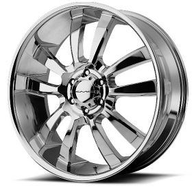 "20"" KMC Wheels KM673 Skitch Chrome Rims"