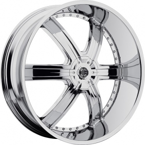 "20"" 2Crave Wheels No.4 Chrome Rims"