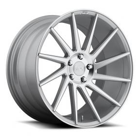 "19"" Niche Wheels M112 Surge Silver Macined Rims"