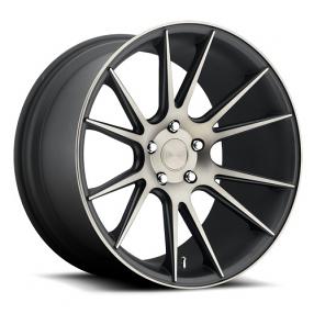 "20"" Niche Wheels M153 Vicenza Black Machined Rims"