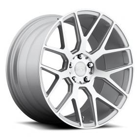 "20"" Niche Wheels M160 Intake Silver Machined Rims"