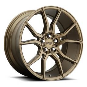 "20"" Niche Wheels M167 Ascari Bronze Rims"