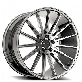 "20"" Staggered Giovanna-Gianelle Wheels Verdi Chrome Rims"