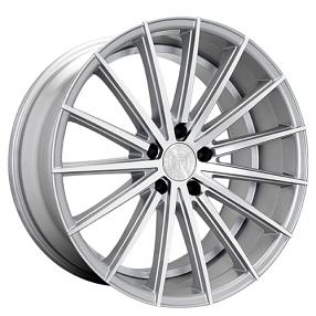 "20x8.5"" Lexani Wheels Pegasus Silver Machined Rims"