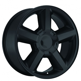"20"" 2007 Chevy Tahoe Wheels Satin Black OEM Replica Rims"