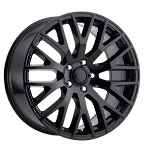 "19"" Ford Mustang Performance Wheels Gloss Black OEM Replica Rims"
