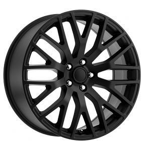 "19"" Ford Mustang Performance Wheels Satin Black OEM Replica Rims"