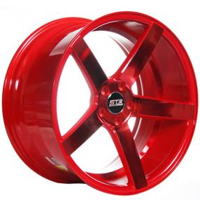 "18"" STR Wheels 607 Neon Red Rims"