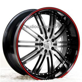 """20x8.5"""" Versante Wheels VE212 Custom Painted Stripe Rims"""
