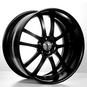 "20"" Staggered AC Forged Wheels Rims 312 BK 3 piece"