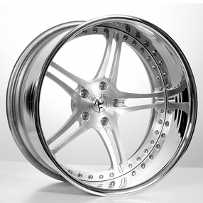 "20"" Staggered AC Forged Wheels Rims Split5 Satin 3 piece"
