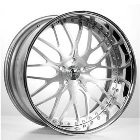 "19"" AC Forged Wheels Rims 313 Satin 3 piece"