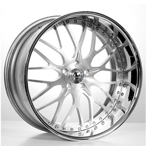 "22"" Staggered AC Forged Wheels Rims 313 Satin 3 piece"