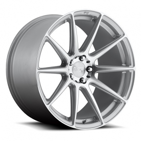 "20"" Staggered Niche Wheels M146 Essen Silver Machined Rims"