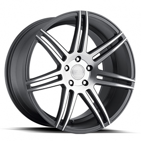 "20"" Staggered Concept One Wheels CSM-7 Executive Gunmetal Rims"