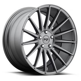 "22"" Niche Wheels M157 Form Charcoal Rims"