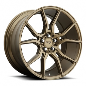 "20"" Staggered Niche Wheels M167 Ascari Bronze Rims"