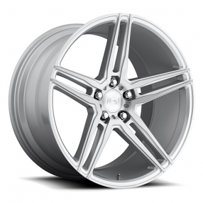 "20"" Niche Wheels M170 Turin Silver Brush Rims"