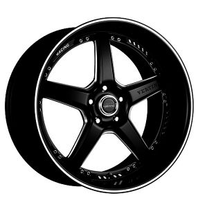 "19"" Staggered Vertini Wheels Drift Matte Black Rims *Free Shipping"