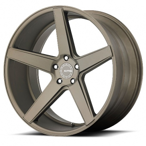 "19"" Staggered KMC Wheels KM685 District Matte Bronze Rims"