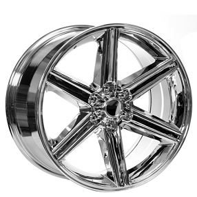 "24"" IROC Wheels Chrome 6-lugs Rims"