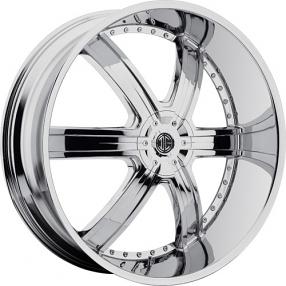 """24"""" 2Crave Wheels No.4 Chrome Rims"""