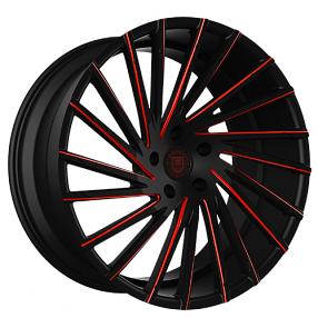 """26"""" Lexani Wheels Wraith Custom Color Rims"""