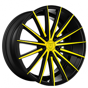 "20"" Staggered Lexani Wheels Pegasus Custom Color Rims"