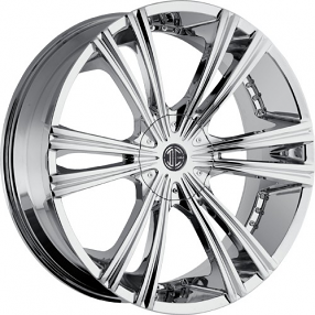 "28"" 2Crave Wheels No.12 Chrome Rims"