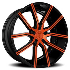 "22"" Staggered Lexani Wheels Gravity Custom Color Rims"
