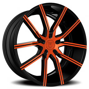 "24"" Lexani Wheels Gravity Custom Color Rims"