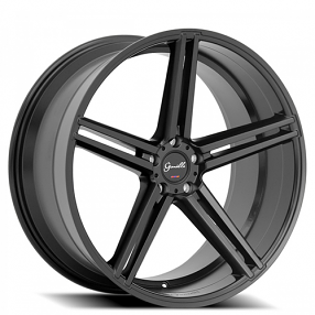 "22"" Giovanna-Gianelle Wheels Lucca Black Rims"