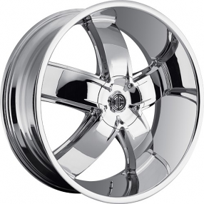 "24"" 2Crave Wheels No.18 Chrome Rims"