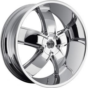 """26"""" 2Crave Wheels No.18 Chrome Rims"""